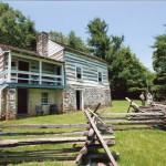 View of Kennedy farmhouse