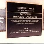 National Landmark plaque
